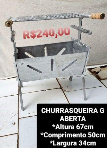 CHURRASQUEIRAS DESMONTÁVEIS *** - Foto 4