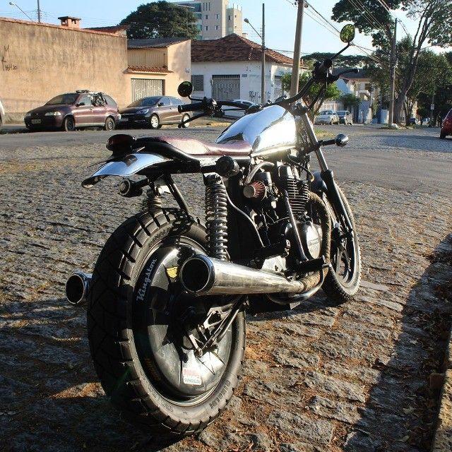 Moto Coffe Racer Custom - CB 400 82 Estilizada Tracker 1982 - Foto 4