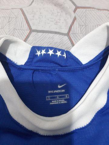 Camiseta futebol Ronaldinho 2006 - Foto 3