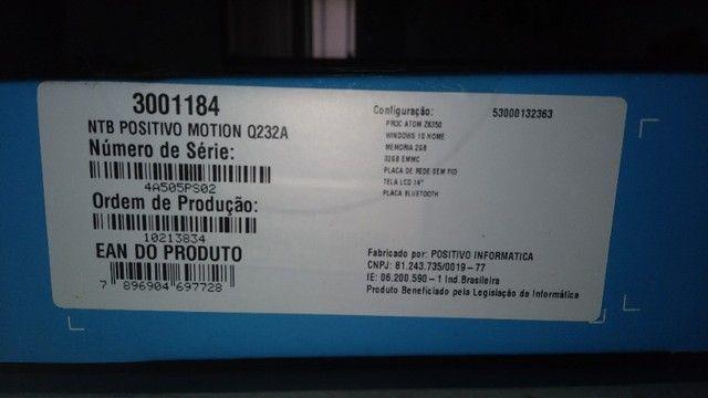 "Notebook Positivo - Q232A - 14""  - Foto 5"