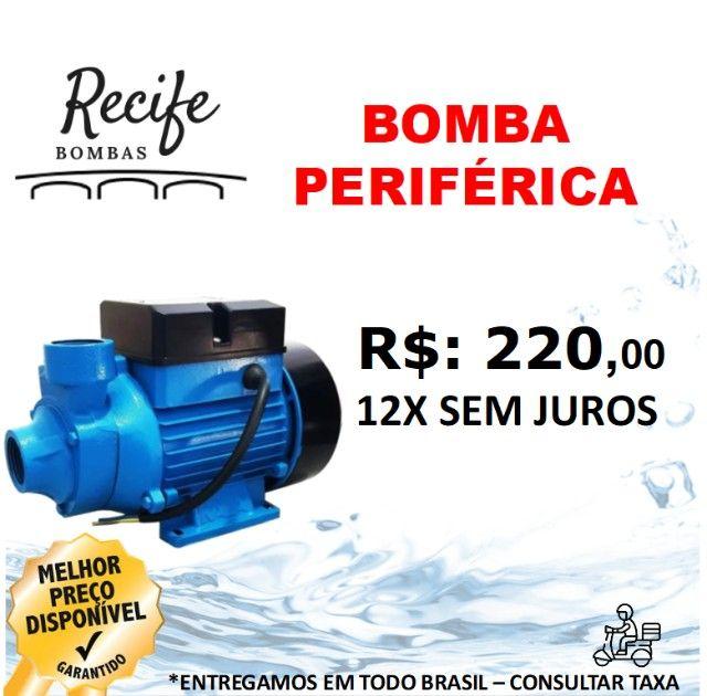 Bomba Centrifuga de água 1/2Cv Periférica
