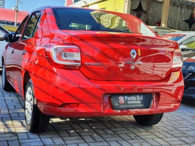 """Renault Logan Authentique 1.0 Flex """" Perfeito para Uber e 99 pop """"  - 2020 - Foto 4"""