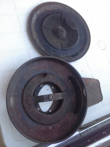 Tampa compartimento filtro ar original opala caravan duplo - Foto 4