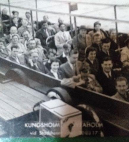 Postal 1954 Estocolmo Suécia  - Foto 2