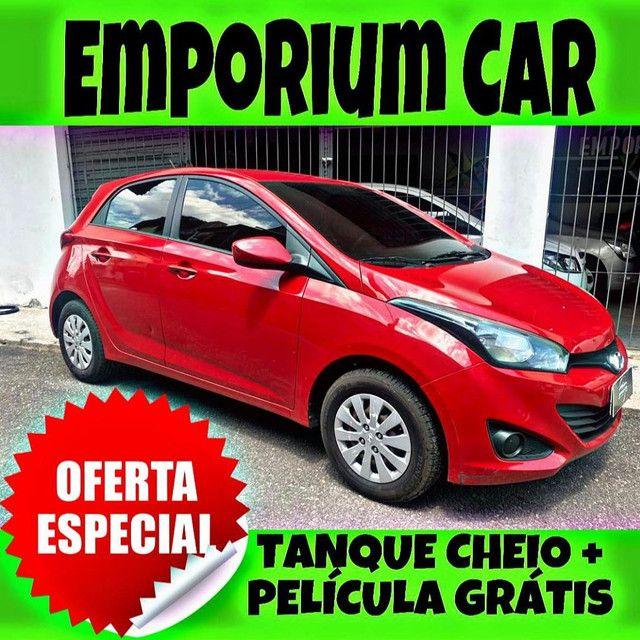 TANQUE CHEIO SO NA EMPORIUM CAR!!! HYUNDAI HB20 1.6 AUTOMÁTICO ANO 2015