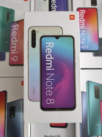 Extremamente top! REDMI Note 8 da Xiaomi.. novo lacrado Garantia e entrega