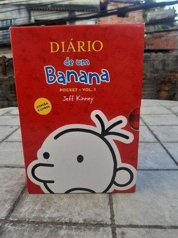 Diario De Um Banana Pocket Vol.1 Novo Na Caixa