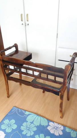 Mesa de telefone antiga - Foto 2