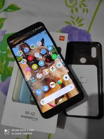 Kit Xiaomi MI A2 64 GB + Smartwatch+ fone de ouvido Tws - Foto 4