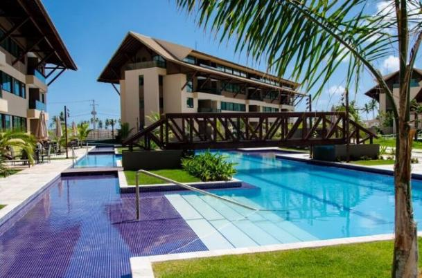 Oportunidade apt 2qts Nui Supreme o mais exclusivo condomínio Muro Alto. Trecho de mar
