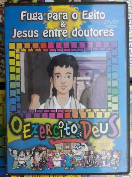 Kit 22 dvd's desenhos biblicos - 68 99942-6001