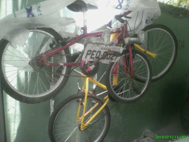 Duas bikes ok ofertão