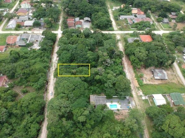Ótimo terreno plano bem localizado em itapoá no balneário das palmeiras, medindo 12 x 32 t - Foto 4