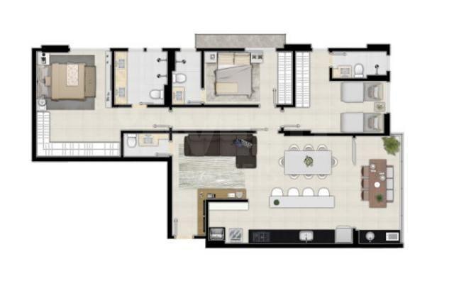 Apartamento à venda com 2 dormitórios em Setor marista, Goiânia cod:620868 - Foto 16