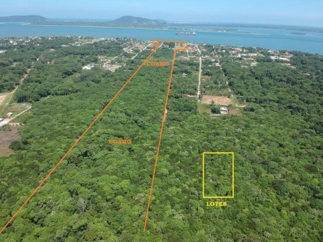 Terreno à venda, 288 m² por r$ 33.000 a vista ou parcelado, no bahamas i - itapoá/sc