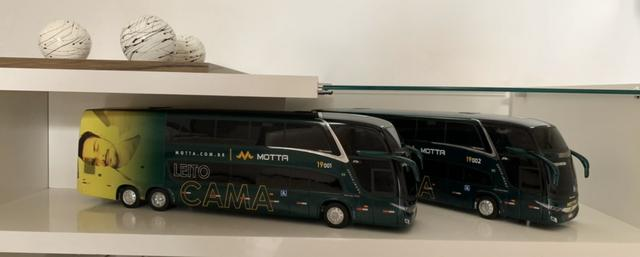 Miniaturas Ônibus MOTTA Leito Cama - Foto 6