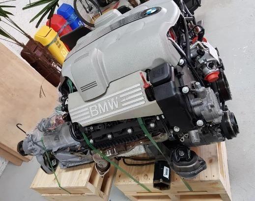 Motor Completo Bmw X5 4.4 V8 Com Nota - Foto 4