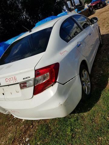 Sucata Honda Civic Exs 2012 para Retirada de Peças