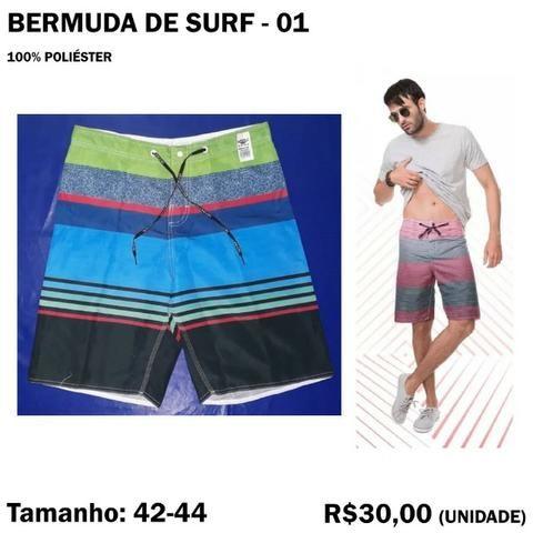 Bermuda Surf Surfista - Tamanho 42 - 44 - Foto 2