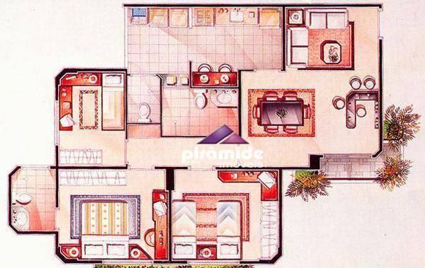 Apartamento com 3 dormitórios à venda, 82 m² por r$ 310.000,00 - jardim das indústrias - s - Foto 18