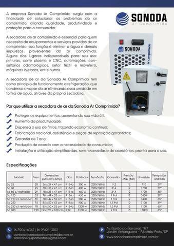 Secadora de ar comprimido SA20 - Foto 4
