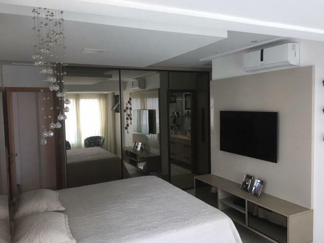 Apartamento 4/4 com suítes + Dependência - Condomínio Parque Tropical Odebrecht - Foto 7
