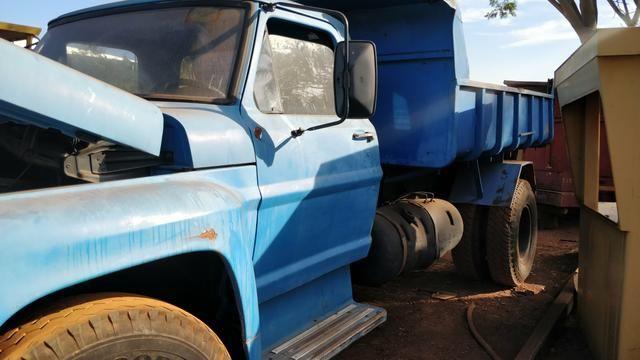 Ford F13.000 Caçamba Ano 86 - Foto 2