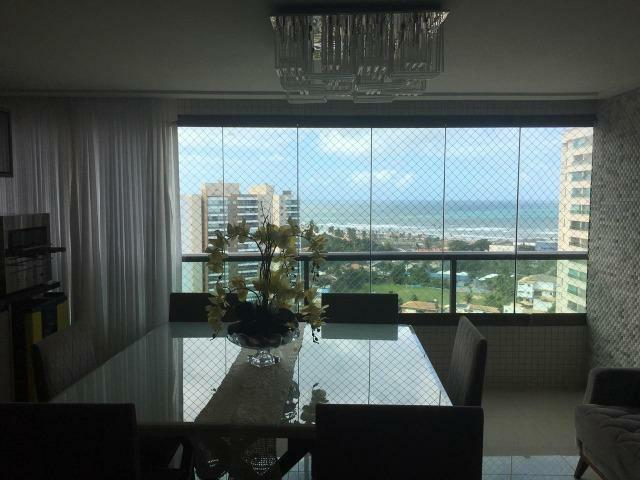 Apartamento 4/4 com suítes + Dependência - Condomínio Parque Tropical Odebrecht - Foto 6