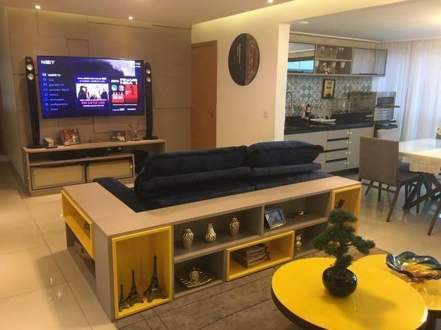 Apartamento 4/4 com suítes + Dependência - Condomínio Parque Tropical Odebrecht - Foto 11