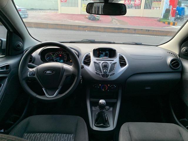 Ford ka 2015 comandos no volante 5mil de entrada - Foto 9