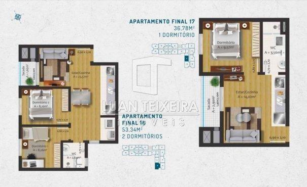 Duque 1128 - Apartamento em Lançamentos no bairro Fragata - Pelotas, RS - Foto 17