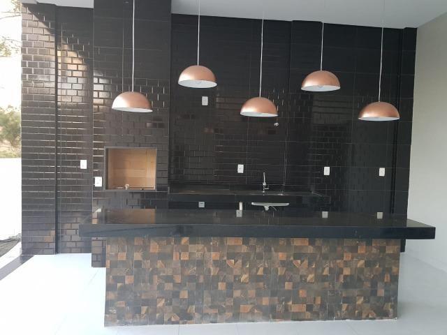 Casa Nova c/ 3 Suítes + Área de Lazer em Cond. Fechado na DF-425 - Sobradinho - Foto 9