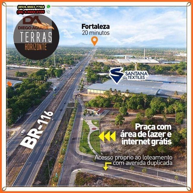 Loteamento em Horizonte as Margens da BR 116 a 30 minutos de Fortaleza - Foto 14