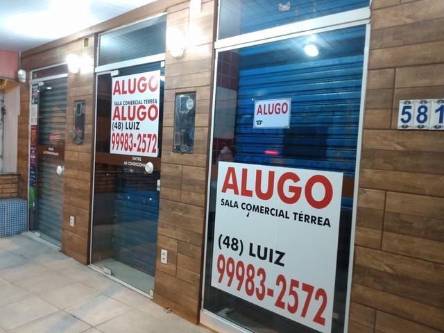 Alugo excelente sala comercial térrea na rua geral da agrônomica - Foto 14