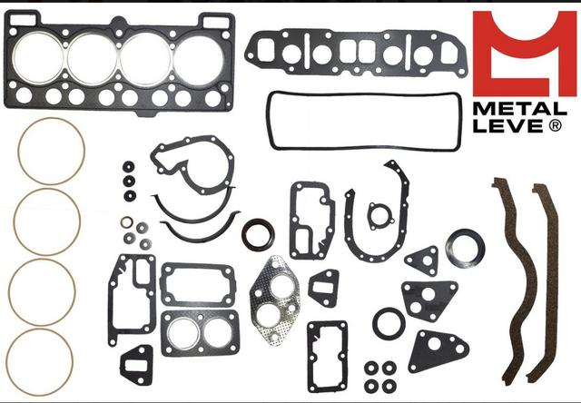 Kit Motor Ford Cht 1.6 1987 A 1991 Alcool Metal Leve - Foto 4