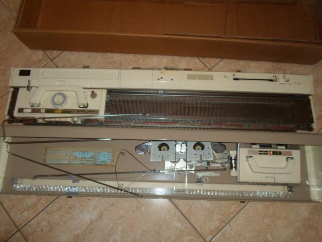 Máquina de tricô Elgin Brother 840 - Foto 2