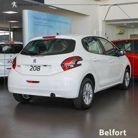 Peugeot 208 Active Pack 1.2 19/19 com taxa 0% em 36x - Foto 2
