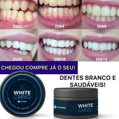 White carvo clareador dental