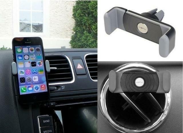 Suporte de celular para carro, via saída de ar condicionado CARFRAME