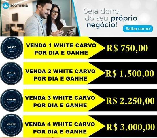 White carvo clareador dental - Foto 4