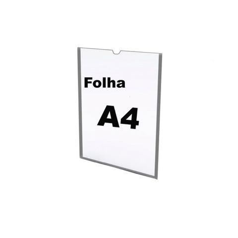 Display/Porta Folder Parede A4 - Foto 2
