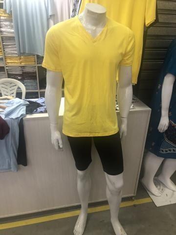 T-shirt Basica 10 reais atacado Fio 30 - Foto 2