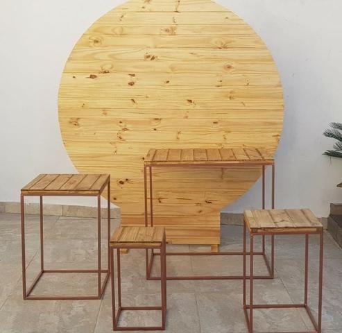 Locação kit Rustico/Pallet