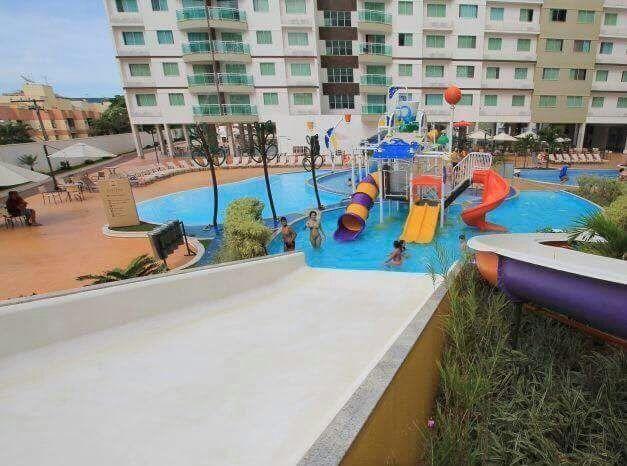 Riviera Park Apartamento com 01 Quarto Setor Turista I, em Caldas Novas GO - Foto 2