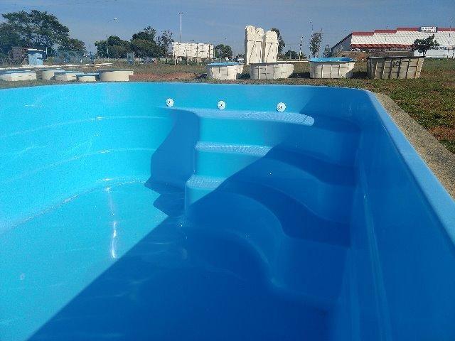 Piscina 4,70x2,66 (10x) Branca ou azul (direto da fábrica) - Foto 2