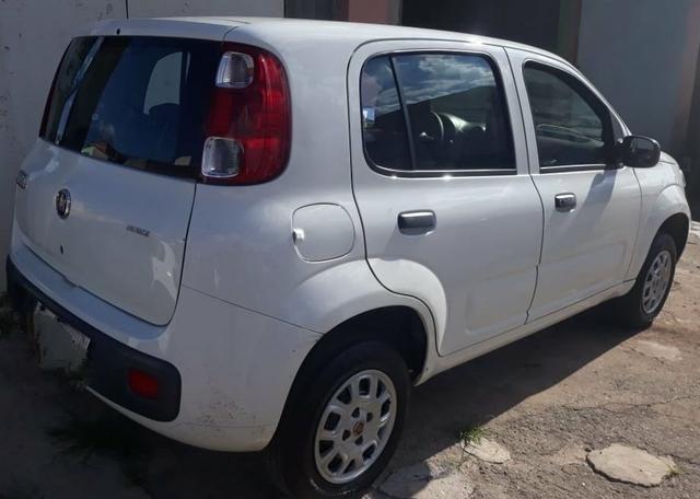 Fiat uno vive 2014/2014.!IPvA 2020 pago só transferir!! - Foto 2
