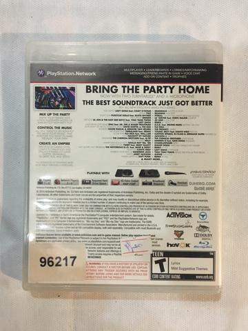 Jogo PS3 DJ HERO 2 + TURNTABLE + SUPORTE PARA TURNTABLE - Foto 3