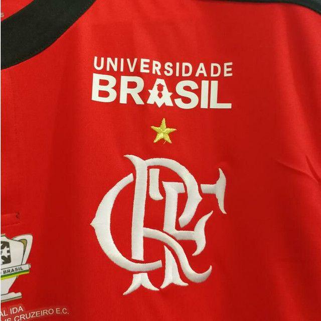 Camisa Adidas Flamengo 2017/18 (Final Copa do Brasil) - Foto 3