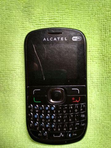 Celular Alcatel 639d Dois Chips Usado Bom E Barato - Foto 4