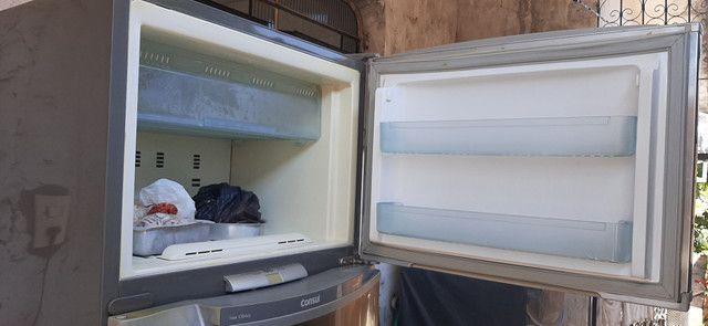 Geladeira Consul Inox fros free - Foto 6